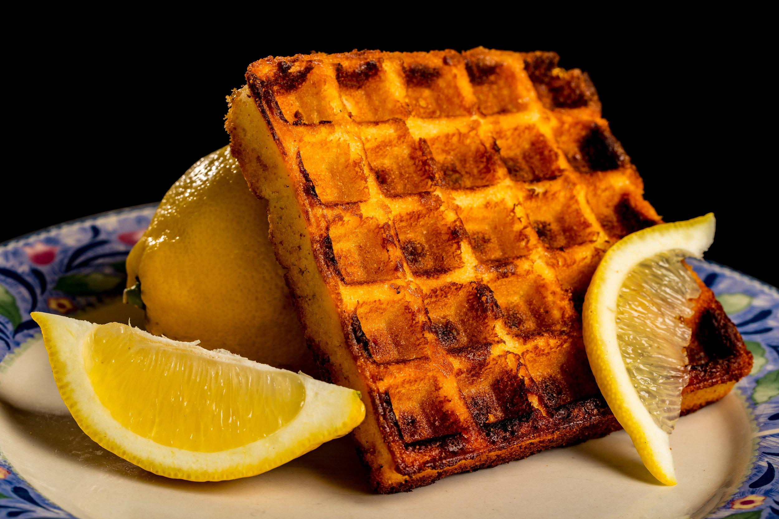 Lemon Cake Waffle - My personal favorite. Sweet, citrusy, and fresh!