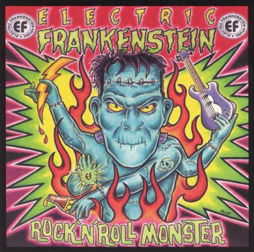 Rock And Roll Monster - 5. Rock And Roll Monster LP/CD (AUS/USA/EUR: Au-Go-Go 1999) OUT OF PRINT By popular demand extra songs added - full length version - with different cover art!Rik L Rik on VocalsNaked Heat Blackout Savage (Fun Things cover)Imperial Void Used To Know Queen Wasp (Misfits cover)I Got Power Meathouse Do the Nihil Out There