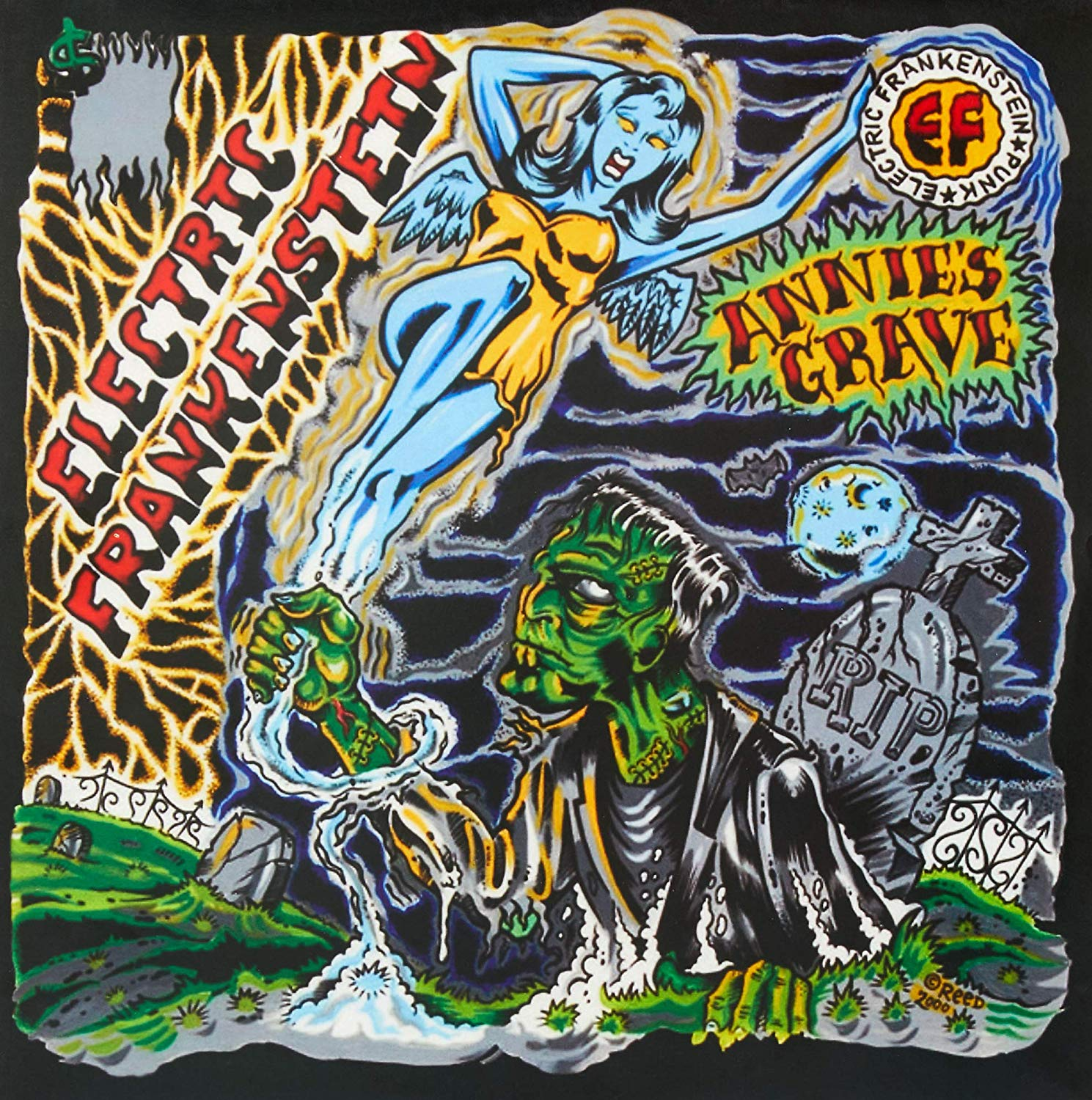 Annie's Grave - 8b. Annie's Grave(Victory Records - USA 2001)OUT OF PRINTDifferent version ofDon't Touch Mealbum same songs except has live version of Perfect Crime and videos of Hate Machine and Already Dead instead of Clash, Girlschool, and Red Noise covers.