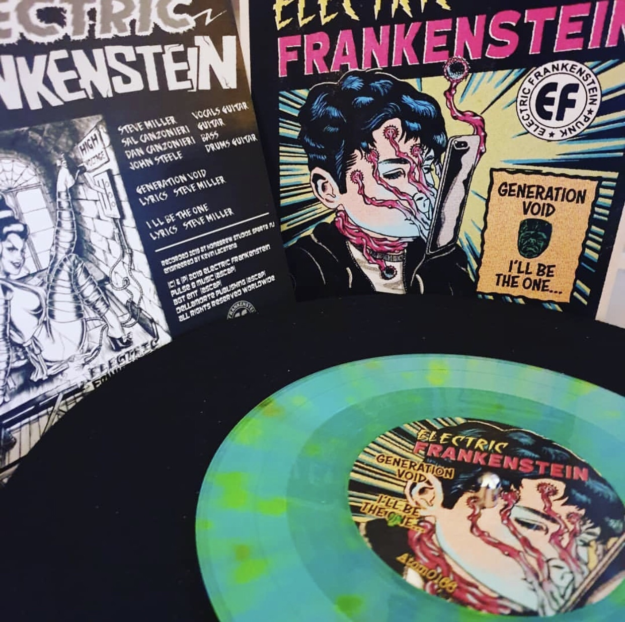 Electric Frankenstein / The Hip Priests - Split (Speedowax - 7