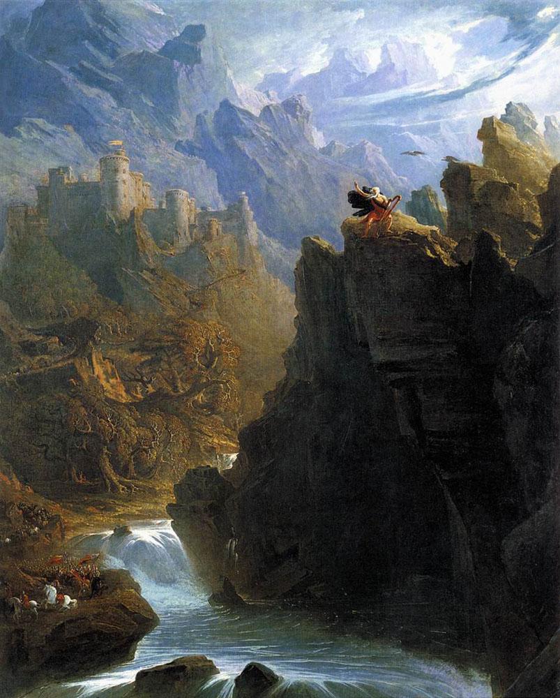 The Bard  by John Martin, 1817