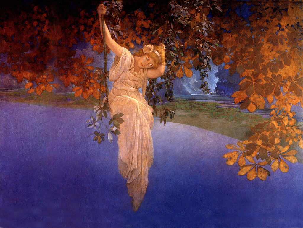 Reveries  by Maxfield Parrish 1913