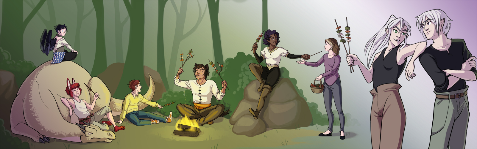 Check out my - webcomic