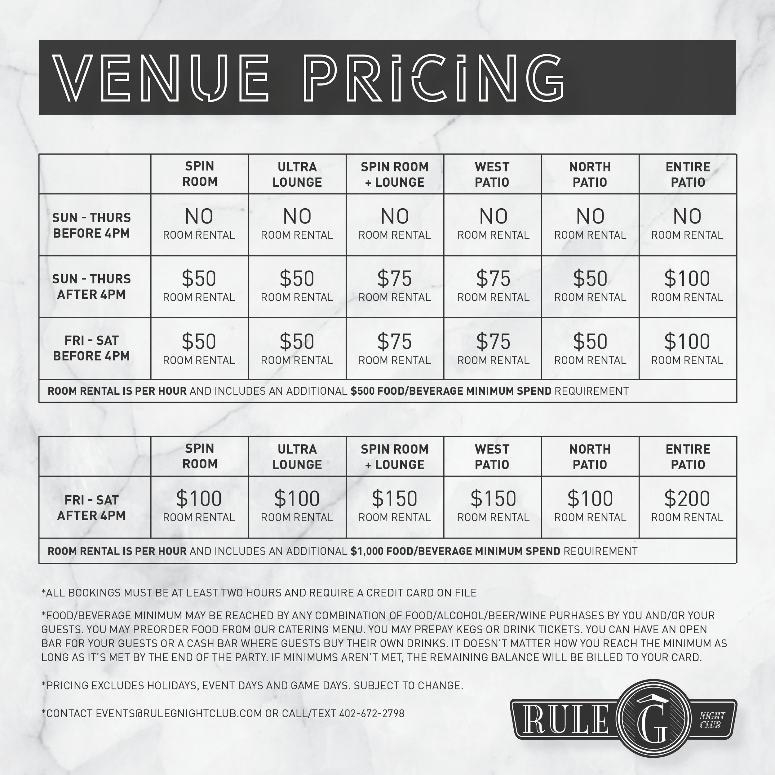 Rule G - Venue Pricing.jpg