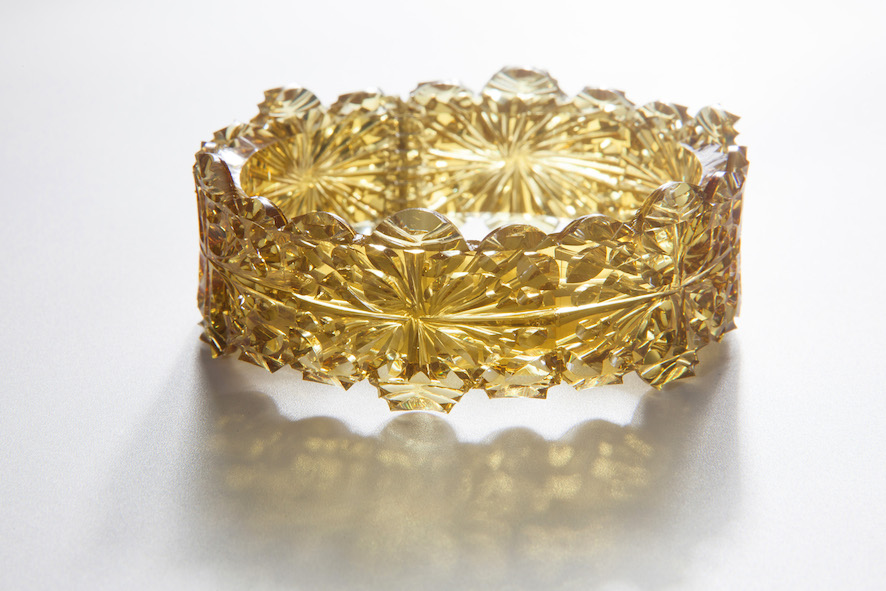Image: Gold Doily Cuff, Kath Inglis, photography by Craig Arnold