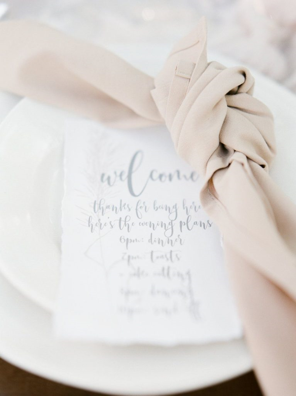8 Napkin Folds For Your Wedding Nashville Wedding Planners Group
