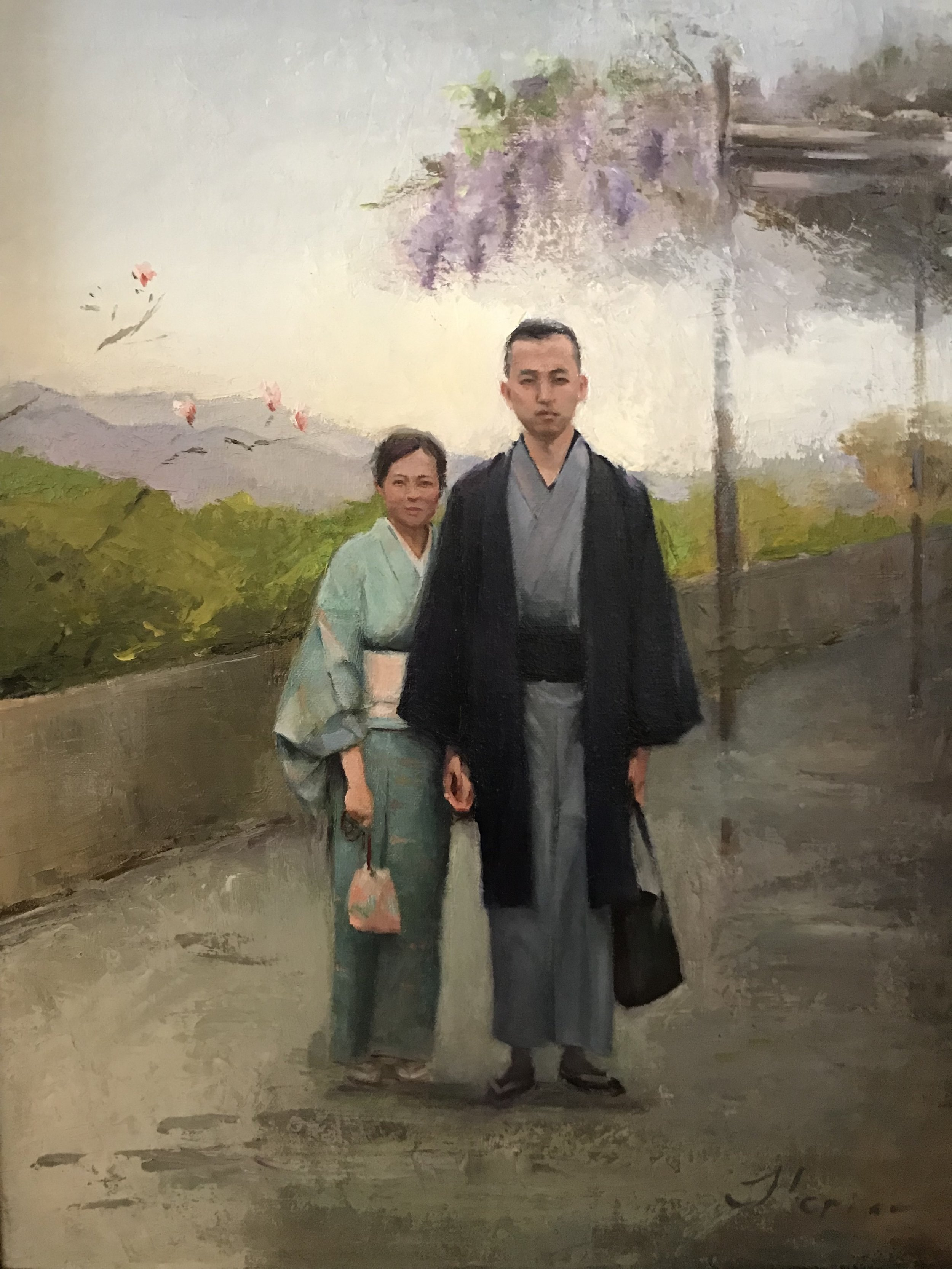 Couple from Kyoto