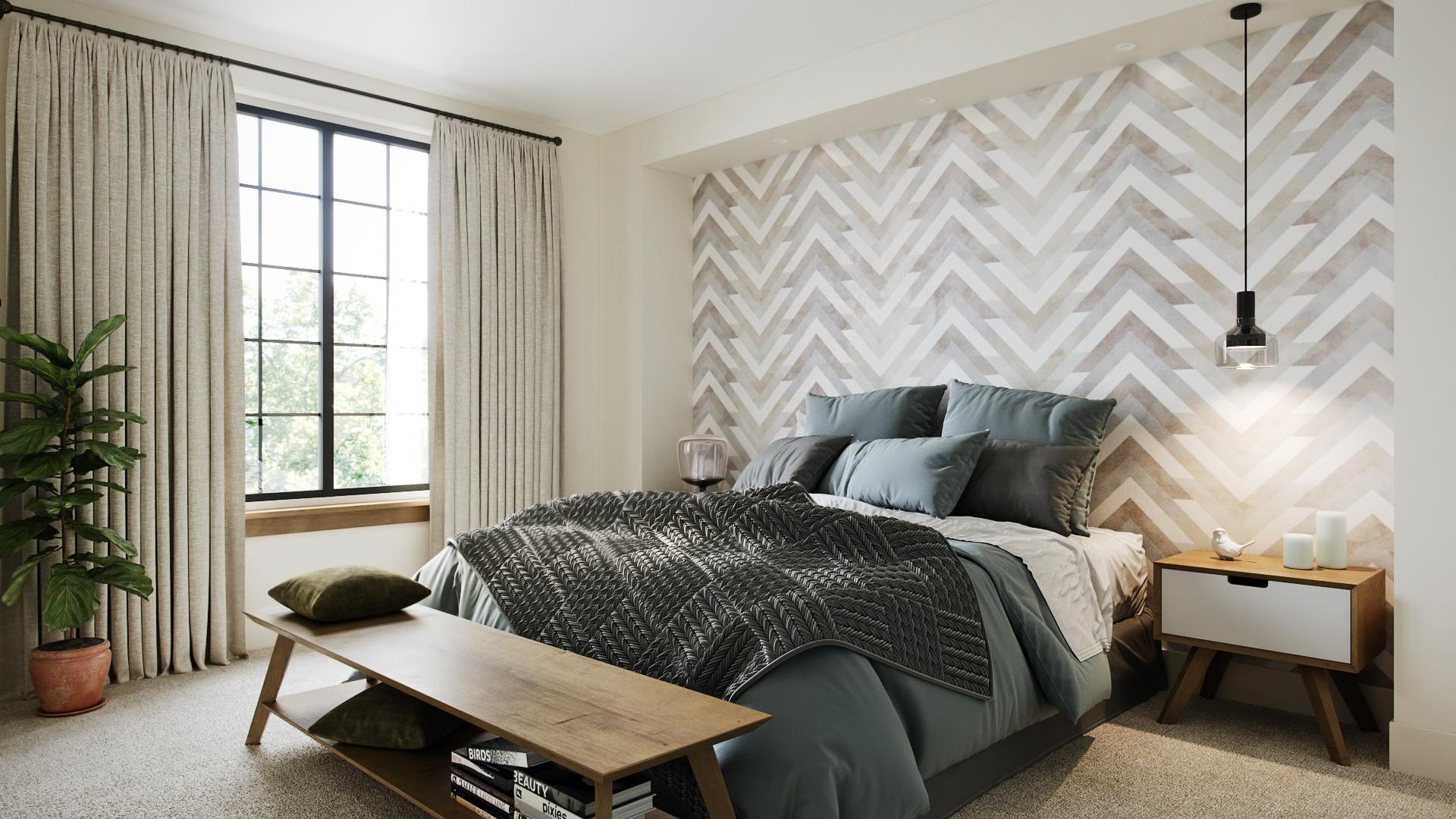 Bonner's Mill-Bedroom