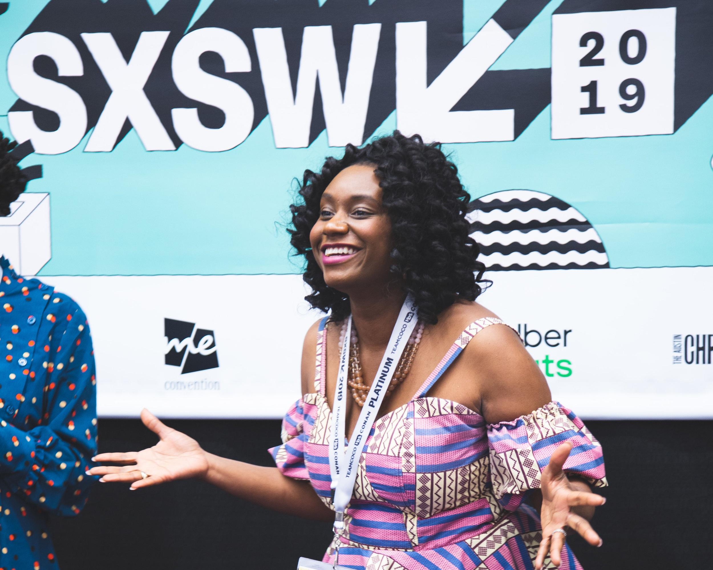 Speaking at SXSW 2019 in Austin Texas.
