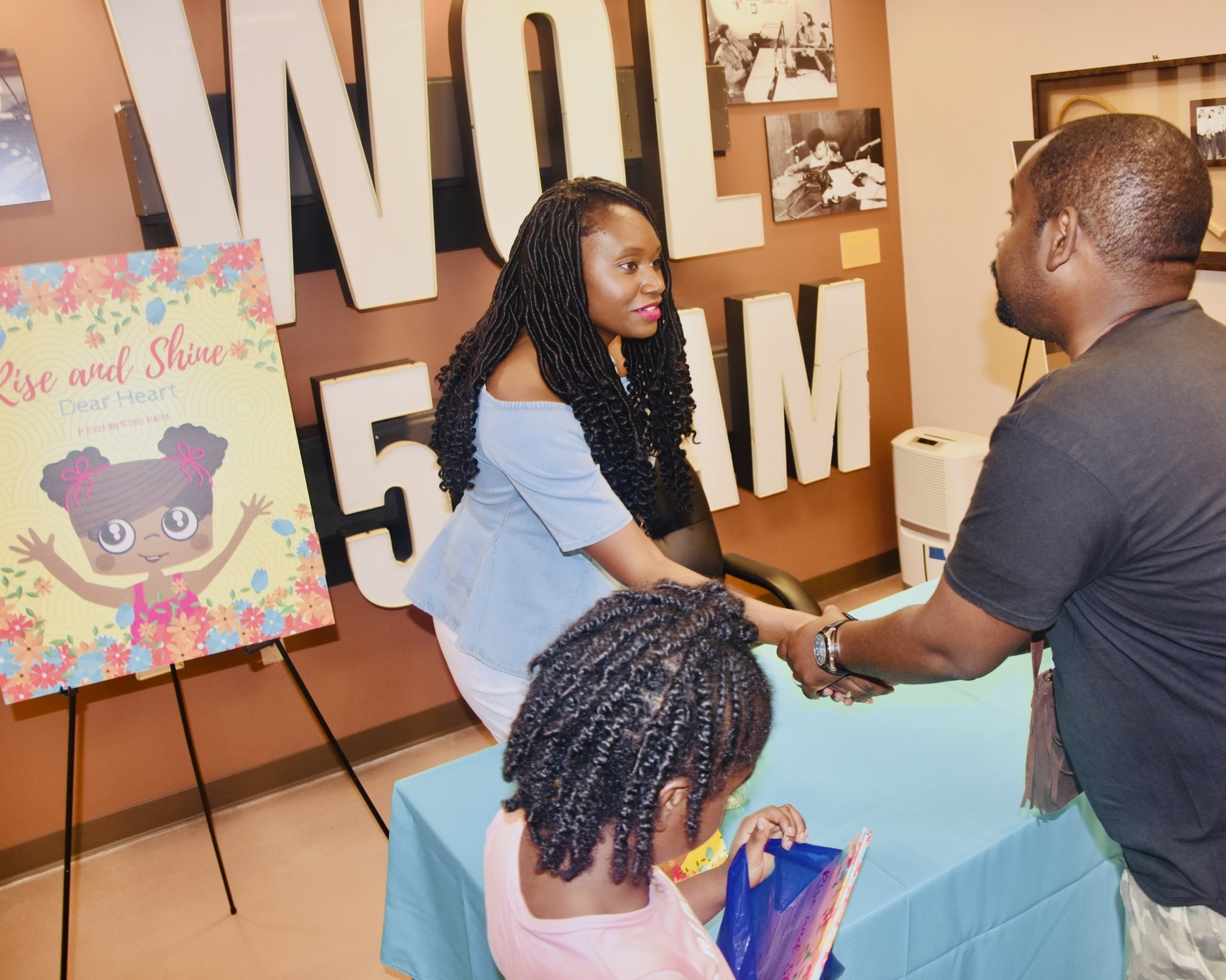 Book signing at Prince George's African American History Museum.