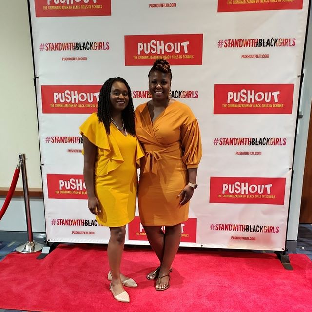 Yesterday, I attended the world premiere of #pushoutfilm with my fellow @fvsu_1895 Wildcat and friend @ashleyddevaughn at this year's Congressional Black Caucus Annual Legislative Conference. Ashley has been doing amazing work in youth criminal justice reform in Baltimore. Push Out is a documentary based on the book by @monique.w.morris that addresses a how young Black girls are criminalized and pushed out of the educational system at as early as 5 years old. It's time for us to #standwithblackgirls! - Learn more at pushoutfilm.com. . . . . . . . . . . . . . #BlackLove #CBCFAL19 #SocialJustice #WritersofInstagram #WritersofIg #documentary #BlackFilms #BlackGirls #BlackGirlMagic #womenwhowrite  #BlackBloggers #BlackWriters #calledtobecreative  #BlackBloggersConnect #ProtectBlackGirls #BlackLivesMatter #liveauthentic #createyourlife #dreamersandoers #makersgonnamake #ladypreneur #mycreativebiz