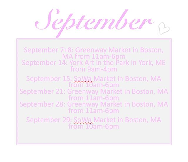 Here is where I will be this month! I'd love to see you at one of my shows! ⠀⠀⠀⠀⠀⠀⠀⠀⠀ ⠀⠀⠀⠀⠀⠀⠀⠀⠀ #beadorable #shoplocal #supportlocal #NH #ConcordNH #creativity #madewithlove #selfcare #spoilyourself #handmade #jewelry #jewelrydesign #shopforyou #shophandmade #livefree #HopkintonNH #NewEngland #MollyBrandt #smallbusiness #meaningful #sharethelove