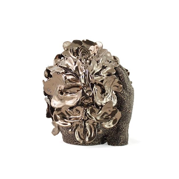 MOMO MOHA, 2019 - Glazed stoneware clay,21.5 x 15 cm (8.4 x 6 in.)