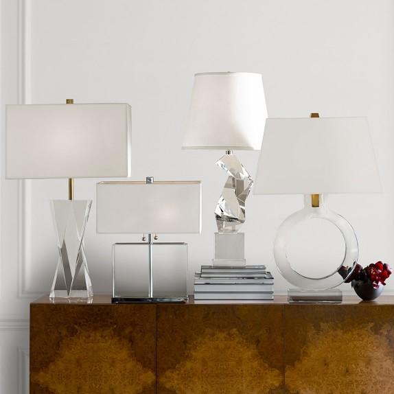 Crystal Prism Lamp -