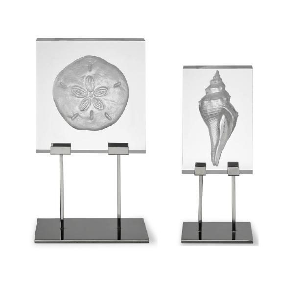 Coastal Relief Shell Sculptures