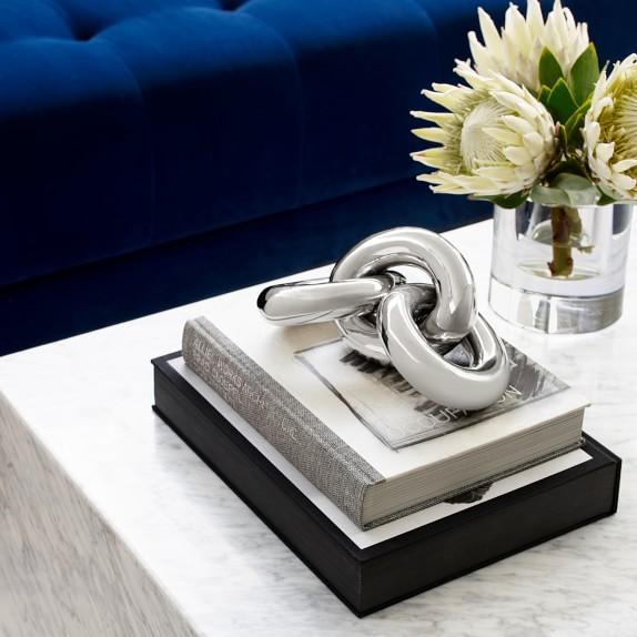 Nickel Links Sculpture