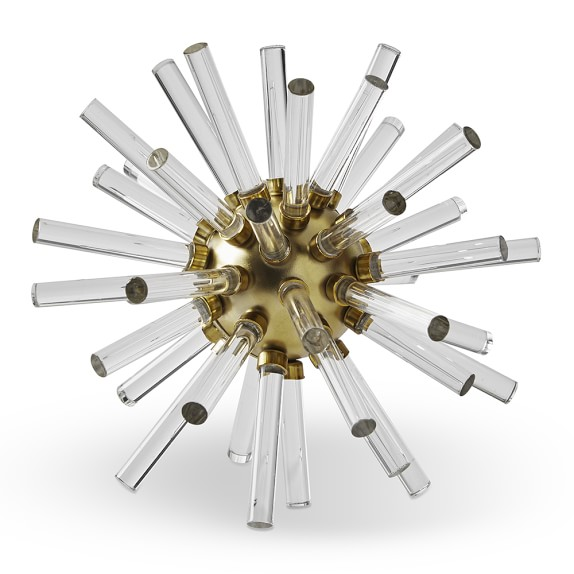 Acrylic and Metal Starburst Object