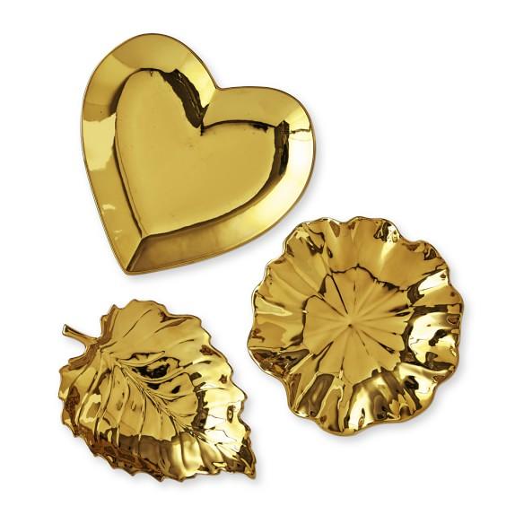 AERIN Gold Ceramic Catchalls