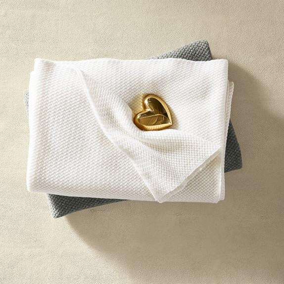 AERIN Brass Heart Object