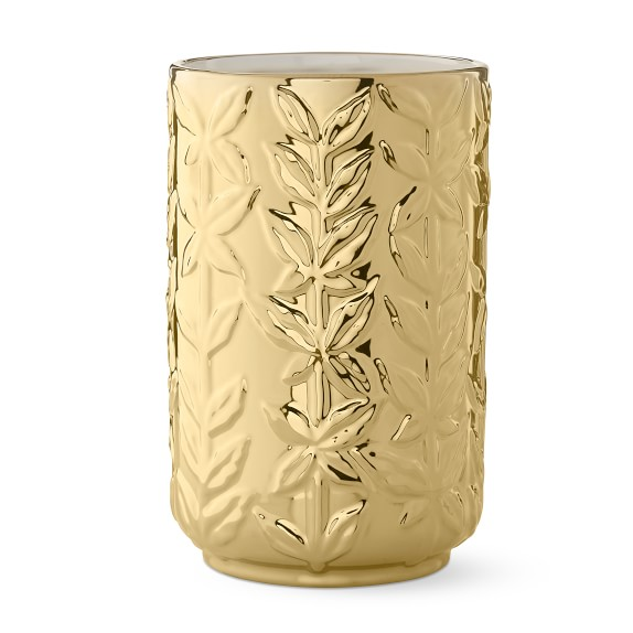 AERIN Winter Vine Ceramic Vase