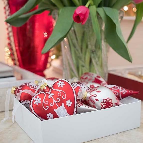 AERIN Glass Ornaments