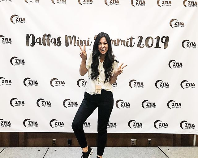 I am SO happy to be here in Texas with my @zyiaactive family. 👯♀️👯♀️👯♀️ When I went to Zyia's first little summit  in just the fall of 2017, we had a small little room of women - I think MAYBE 100 people. 💯  Now, I'm sitting here in a HUGE room with over 500 people representing 2 countries and less than 1/10 of our family is here. 😱 It's crazy to think we've seen over growth of over 800% and women have literally retired from day jobs since working with this company that launched just two years ago. ✌🏽 I'm so grateful for a chance to feel uplifted, share why owning my own Zyia business has and continues to bless me and my family, and learn from others. 🙏🏼 I wish I could bottle up the love, excitement and motivation I feel with my Zyia sisters and share it with you all. ✨ I'm so grateful I decided to take a chance on myself and Zyia Active. 🌜 If you're ready to be a part of this Zyia family and build a business, just reach out and take jump in with me! I'd love to work with you and welcome you 😘