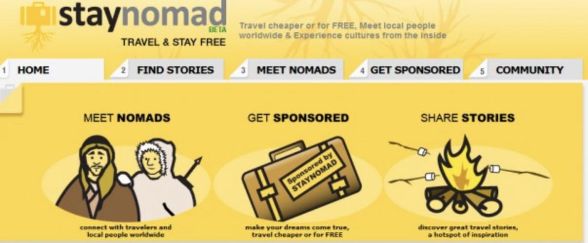 Stay Nomad App - StayNomad