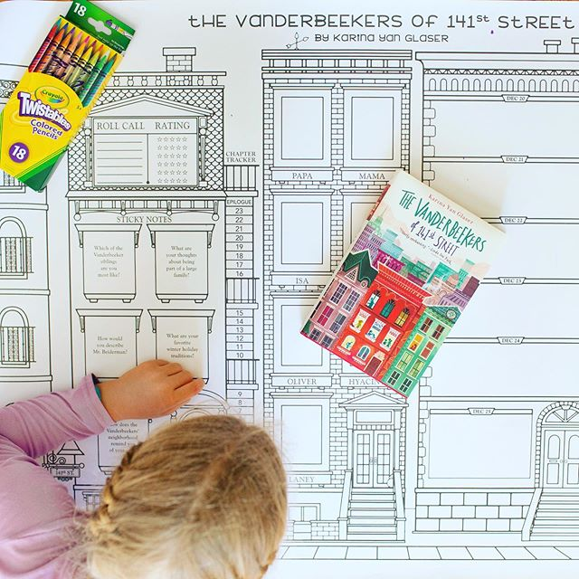 My daughter usually has 3 books going at the same time.  It's like she just can't decide which one to read first.  I have no idea how to keeps everything straight between all of the books.  Honestly, I just couldn't do it!⁠⠀ ⁠⠀ When @rubyreadsbooks sent me this amazing book poster for The Vanderbeekers of 141st Street - I was such a fan!  It really encouraged my daughter to get close to the book, slow down and take some time to really enjoy the process.  Plus she loves to color and decorate, so this was a win/win for her!⁠⠀ ⁠⠀ The poster includes a chapter tracker - so you color up the house as you finish a chapter, places to draw out each of the characters (in the windows! so cute!), discussion questions and really fun stickers to decorate the house and it's surroundings.  Such a fun way to enjoy the characters and the book in an active and creative way.⁠⠀ ⁠⠀ They also have amazing picture book boxes filled with beyond the book activities.  I showed a peak in my stories last week - such engaging, amazing ideas - all delivered to your door!  YES!!!!⁠⠀ ⁠⠀ If you'd like to try out a poster or box you can get 15% off with the code DARLING15.  Just visit - rubyreadsbooks.com or click the link my bio.⁠⠀ ⁠⠀ Have you done book boxes before?  How do you like to extend learning beyond the book?⁠⠀ ⁠⠀