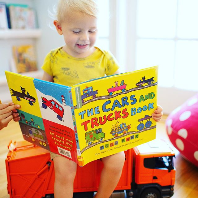 Hello Darlings - it's Toddler Tuesday!  Ok, that's not really a thing, but maybe it should be...⁠🤔 ⁠⠀ We LOVE Todd Parr and we especially love his new cars and trucks book.  My sweet toddler is ALL BOY.  He loves anything with wheels and he really like to throw things.  It wasn't a huge surprise that he took to this book right away!⁠⠀ ⁠⠀ Are you a Todd Parr fan?  Which one is your favorite? ⁠⠀ ⁠⠀ If you've never read Todd Parr - go check him out at your library - vibrant, colorful and relatable images that all children love.
