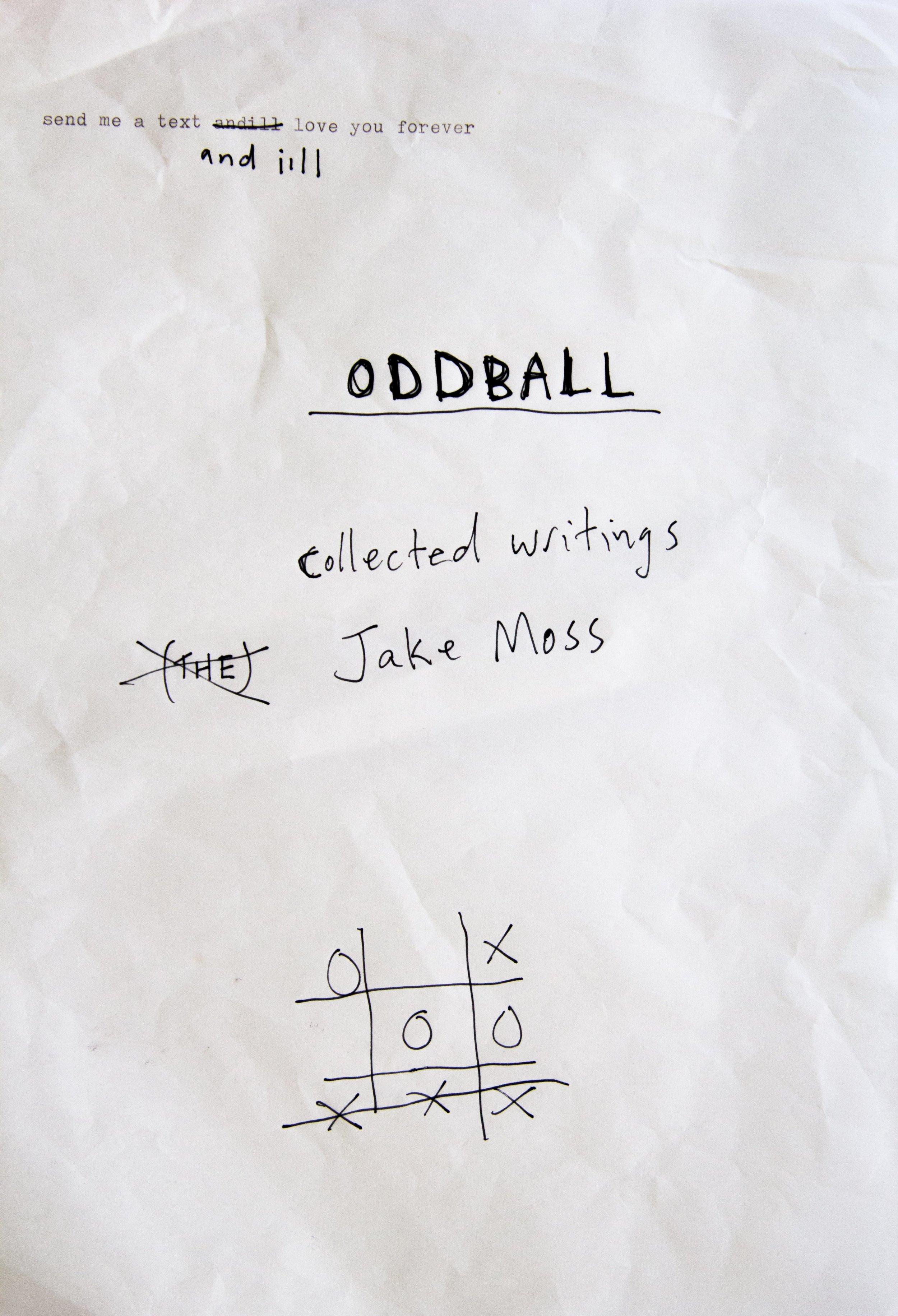 Oddball cover
