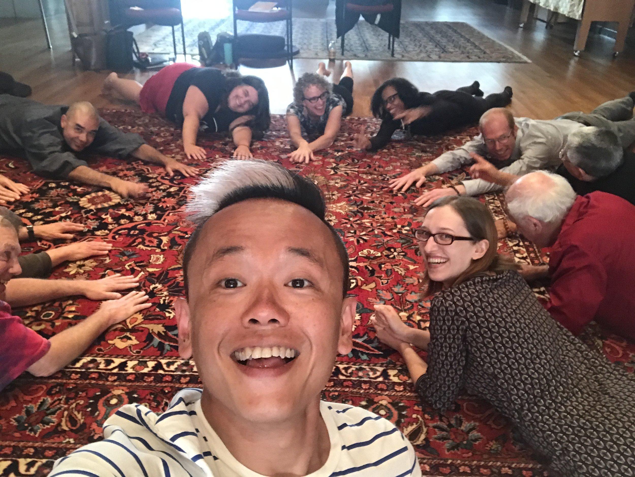 Making Refuge retreat-workshop for Mind & Life Institute, Berkeley, California