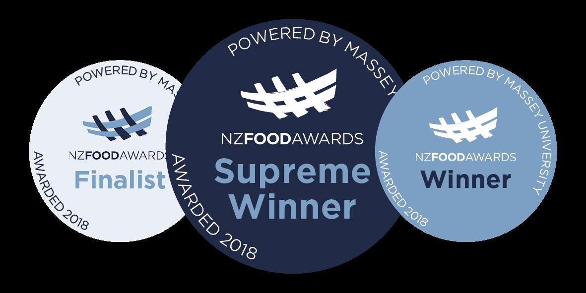NZ Food Awards Quality Mark