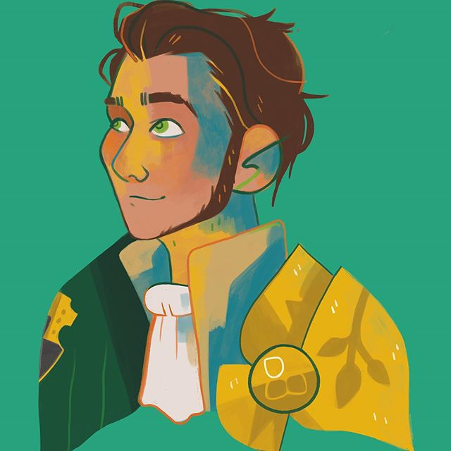 Second of the main three houses lords, it's our boy Claude! I'm putting these guys up on my redbubble as I go, I'm also maplebats over there ; )  #fe16 #fireemblemthreehouses #fireemblem #fe3h #claudevonriegan #goldendeer #claude #art #digitalart #redbubblestickers #redbubble #illustration