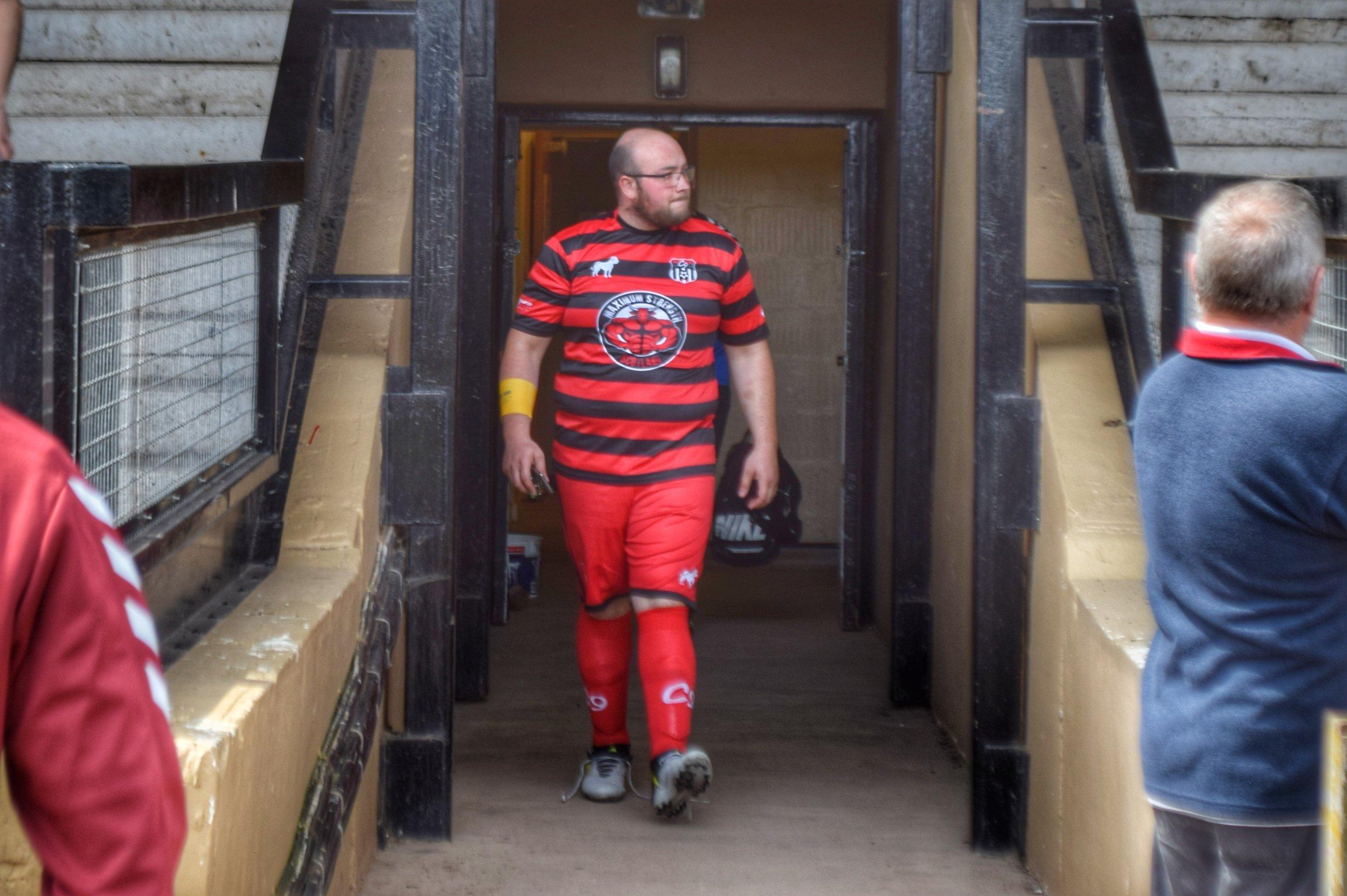 Jamieson at the recent Men's Utd v C9 Reserves game.