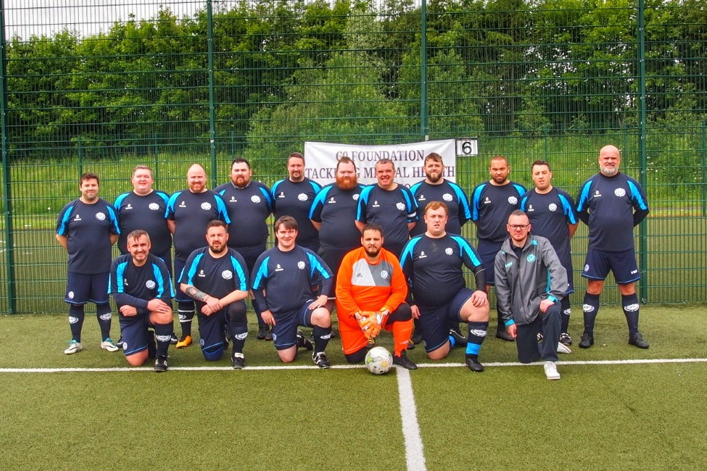 The Glasgow Titans Squad.