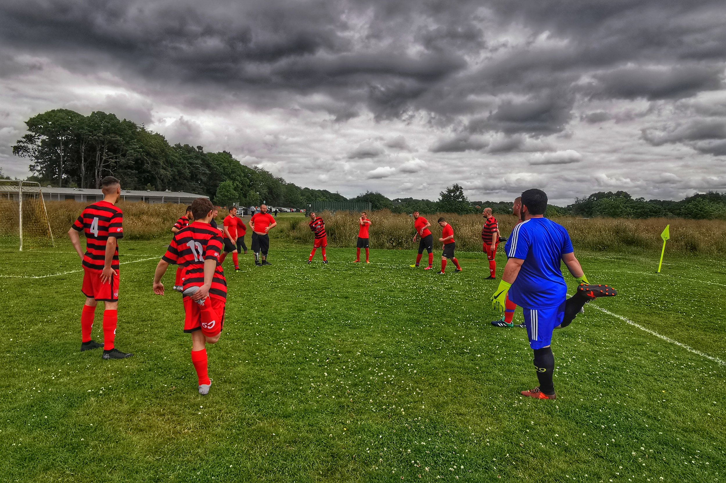 A CHANCE FOR THE RESERVES - Livingstone Community 13 v 0 c9 Foundation AFC