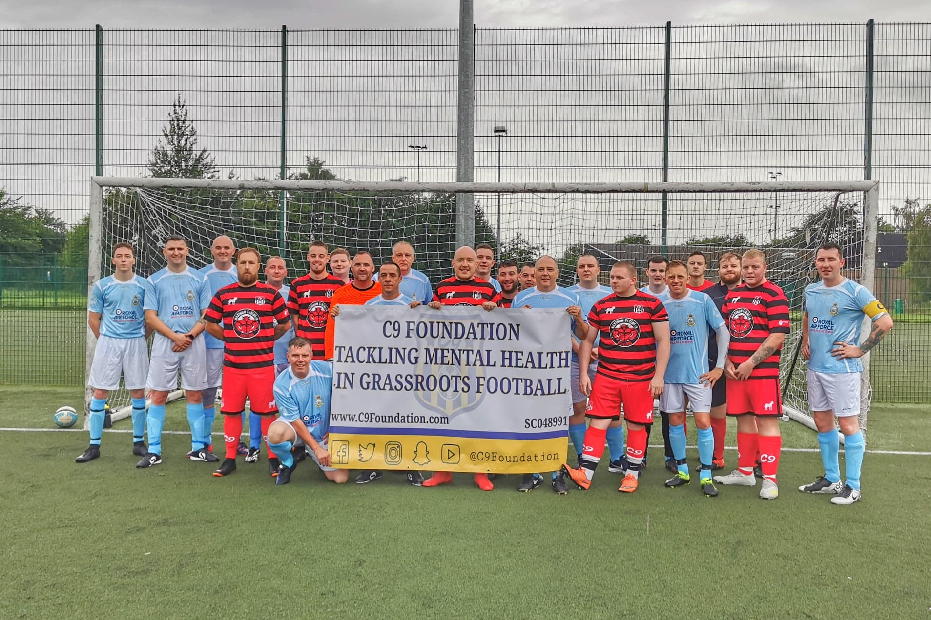 FUNDRAISING IN THE CAPITAL - 603 SQUADRON 1 V 7 C9 FOUNDATION AFC