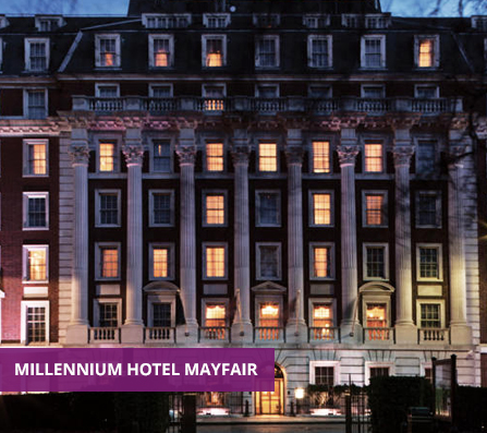 A Venue5 event at the Millenium Hotel Mayfair