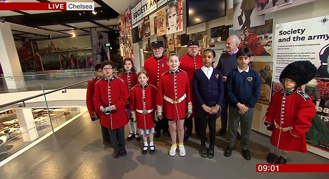 We officially launched our Poetry Together campaign last week with a live broadcast on @bbcnews!  We had Gyles Brandreth, two pensioners from @royalhospitalchelsea, and a group of students from different schools reciting poetry at the @nam_london!  If you haven't signed up yet, follow the link in the bio.