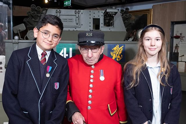 """It was a complete triumph. Young children doing Sassoon with the older soldiers who had actually been in war zones was powerful to see,"" said @gylesbrandreth in his interview with the Tes about the #PoetryTogether2019 initiative.  Link on bio!"
