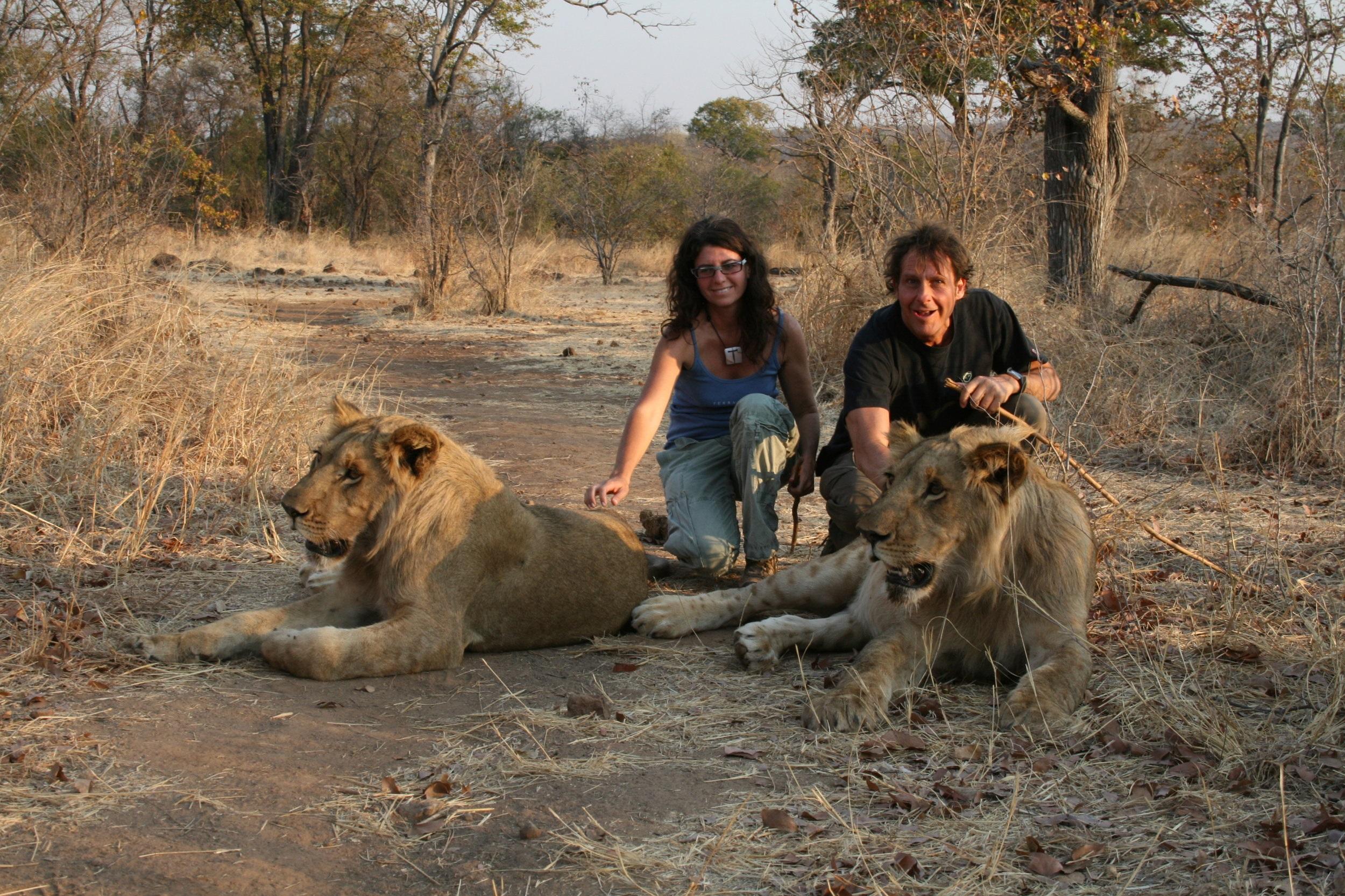 Amici in Botswana .JPG