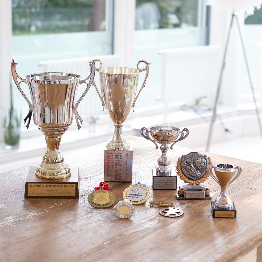 Pokale / Medaillen
