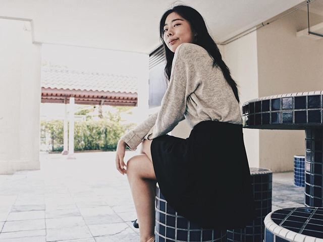 """Jialing plays Jessica, who is always finding something new each time she visits a void deck. They remind her of her friends, since she has only visited them to jam with her friends. (she also looks out for graffiti, she gets a kick out of the scandalous things written)⠀ ⠀ What do you admire about Jessica? ⠀ I like how hard she tries to be self aware and good humoured, even when she's literally and metaphorically lost.⠀ ⠀ Share a quote!⠀ """"Thanks a lot! [unsure and hesitant] lah?"""""""