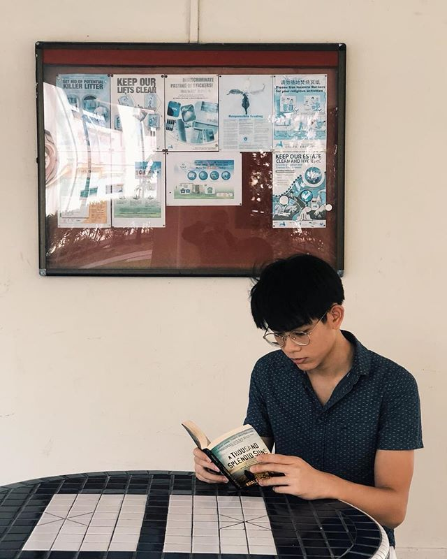 """Feng Kai plays Marcus: Chill, go with the flow, very normal, not very interesting⠀ ⠀ What would you consider to be Marcus' MBTI personality?⠀ ISFP⠀ ⠀ Share a quote!⠀ """"my name's Marcus""""⠀ ⠀ Void Deck 2019⠀ 21-24 Feb  Aliwal Arts Centre"""