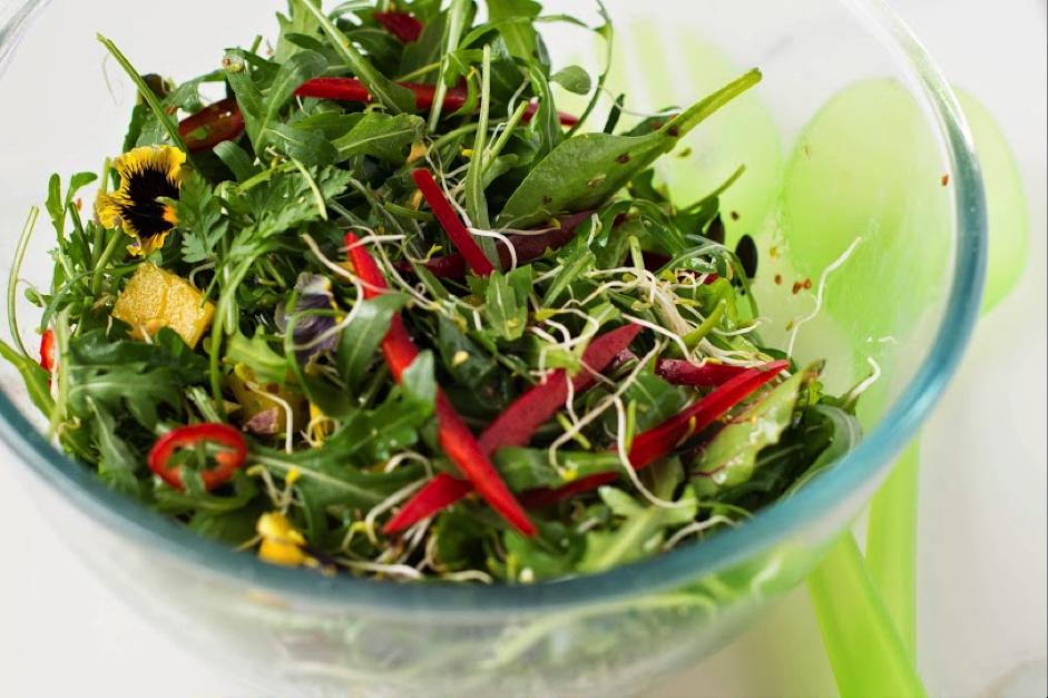 Alphonso Mango Salad - Photography by Dawn Langley