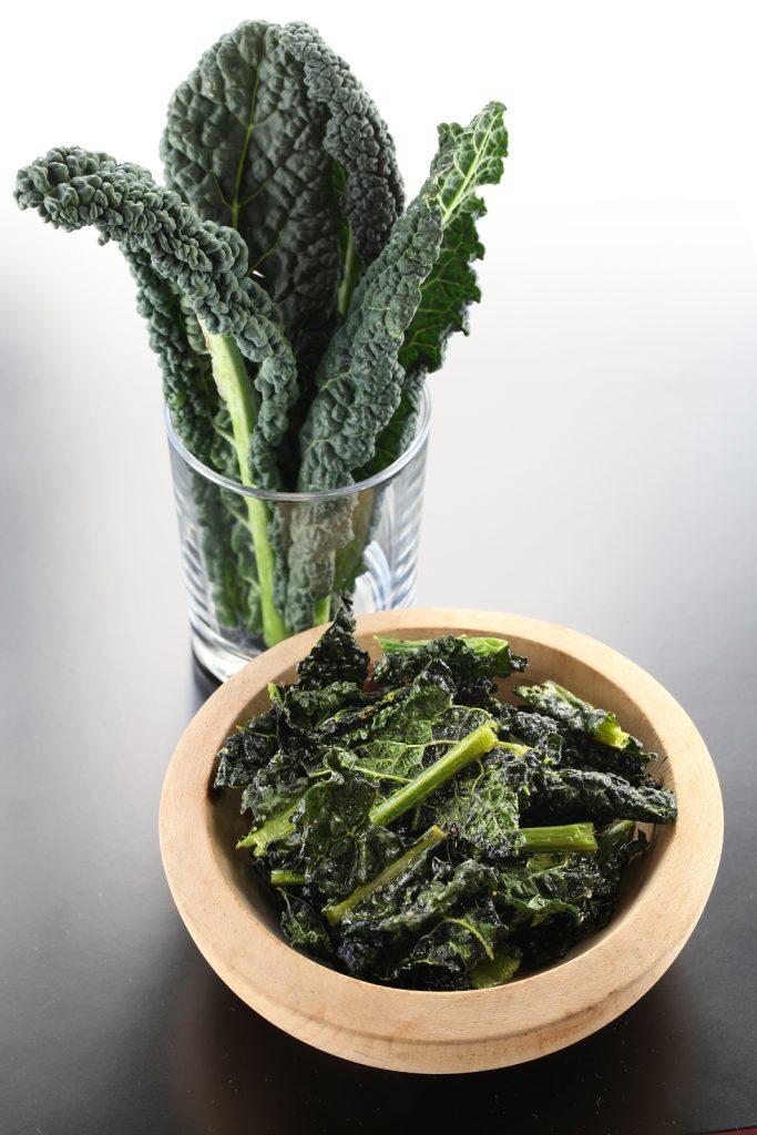 cavelo nero kale crisps