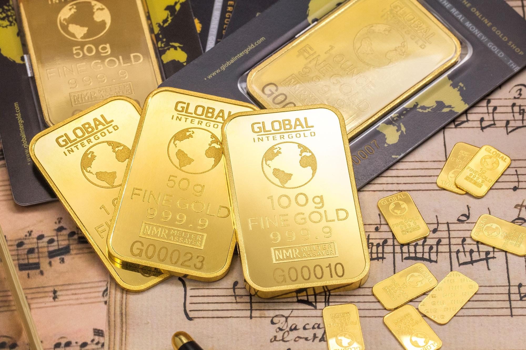 ERPR: Gold bars