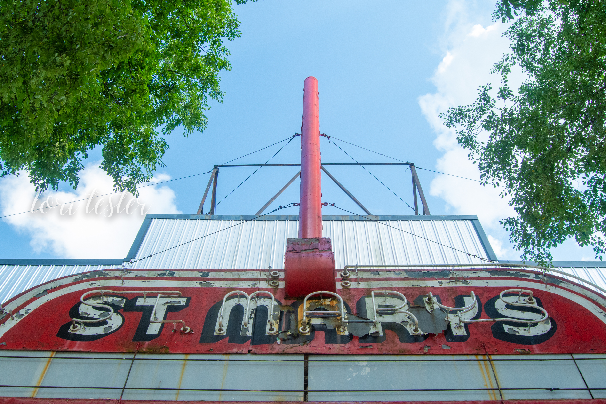 St. Marys Theatre Marquee