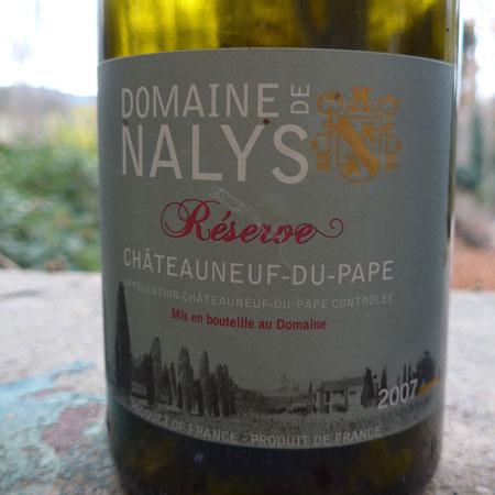 Domaine Nalys Cuvée Réserve