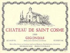 Chateau Saint Cosme Tour, Gigondas